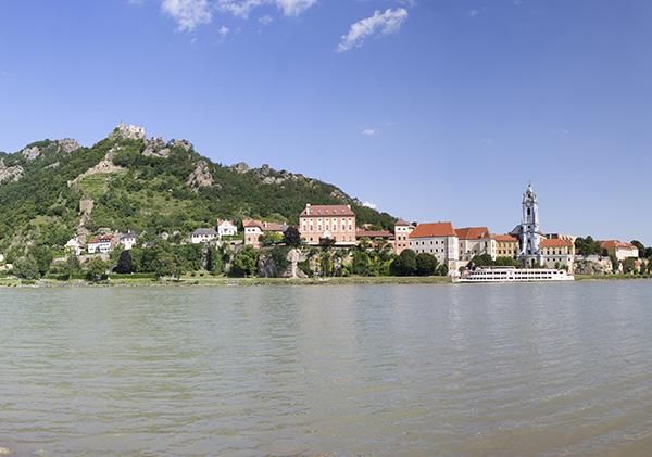 A,Niederoesterreich,Wachau,Duernstein,Donau,Panorama